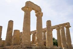 Świątynia Hera, Agrigento, Sicily - Obrazy Royalty Free