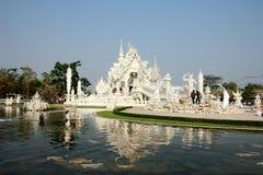 Świątynia i odbicia Zdjęcia Royalty Free