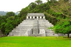 Świątynia inskrypcje, Palenque, Chiapas, Meksyk Obraz Stock