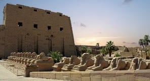 Świątynia Karnak Zdjęcie Stock