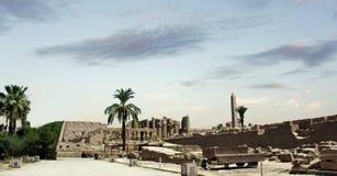 Świątynia Karnak Obraz Royalty Free