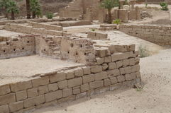 świątynia karnaku ruin Fotografia Royalty Free