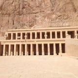 Świątynia królowa Hatshepsut Obraz Royalty Free