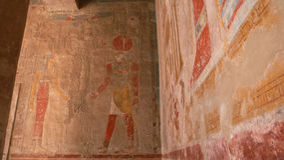 Świątynia królowa Hatshepsut. Egipt Obraz Royalty Free