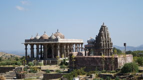 Świątynia - Kumbhalgarh fort Obraz Royalty Free