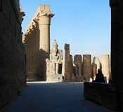 Świątynia Luxor zdjęcia royalty free