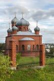 Świątynia męczennik Panteleimon Święty Wielki uzdrowiciel i fotografia stock