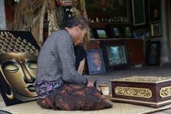 Świątynia Mengi fotografia stock