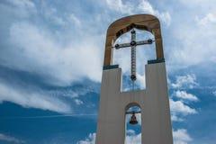 Świątynia na cześć matkę bóg ` płonącego Bush ` w mieście Dyadkovo, Bryansk Rosja region fotografia royalty free
