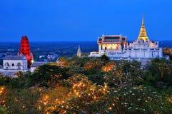 Świątynia na górze Zdjęcia Royalty Free