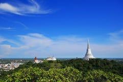 Świątynia na górze Obrazy Royalty Free