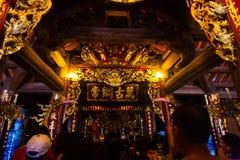 Świątynia na trang rzeka Obraz Stock