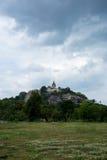 Świątynia na wierzchołku mała góra Zdjęcie Royalty Free