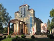 """Świątynia Nasz dama Loretański w Loretańskim blisko KamieÅ """"czyk (Gromadzki Wyszkà ³ w, Polska) obrazy stock"""