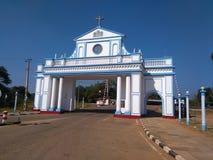 Świątynia Nasz dama Madhu, Sri Lanka fotografia stock