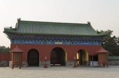 Świątynia Niebiańscy Tiantan Daoist świątynni eligious budynki Pekin Chiny Fotografia Stock