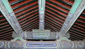 Świątynia niebo (ołtarz niebo)-- Wśrodku Hall modlitw żniwa na dobre, Pekin Zdjęcie Royalty Free