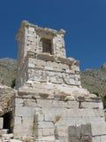 Świątynia niewiadomy bohater w Sagalassos Obrazy Stock