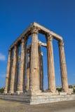Świątynia Olimpijski Zeus Olympieion, Ateny fotografia royalty free