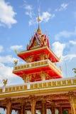 Świątynia Piękna w Tajlandia wewnątrz Obraz Royalty Free