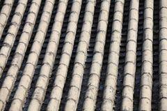 Świątynia popielaty Chiński dach Obrazy Stock