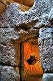 Świątynia przeznaczenie przy Sinca Veche Obraz Royalty Free