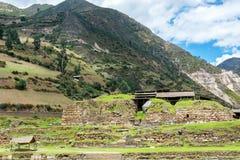 Świątynia przy Chavin De Huantar Zdjęcia Stock