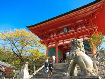 świątynia przy Japan Obraz Stock