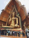 Świątynia przy Kanchanaburi Zdjęcie Stock