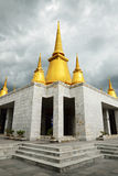Świątynia przy phutthamonthon prowincją Fotografia Stock