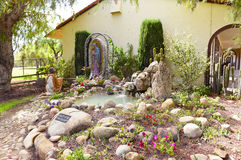 Świątynia przy Santa Ines misją Fotografia Royalty Free