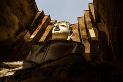 Świątynia przy Sukhothai Dziejowym parkiem, Tajlandia Zdjęcie Royalty Free