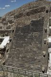 świątynia quetzalcoatl meksyk Zdjęcie Stock