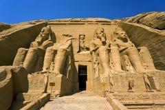 Świątynia Ramesses II przy Abu Simbel Zdjęcie Stock
