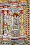 Świątynia San Francisco acatepec VIII obrazy stock