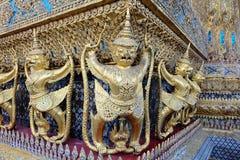 Świątynia strażnicy w Szmaragdowej świątyni, Bangkok Zdjęcia Royalty Free