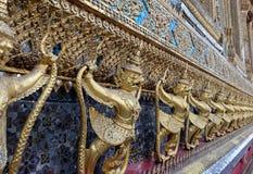 Świątynia strażnik rzeźbi w Szmaragdowej świątyni, Bangkok Fotografia Royalty Free