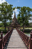 Świątynia Sukhothai Fotografia Royalty Free