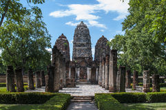 Świątynia - Sukhothai Zdjęcia Royalty Free