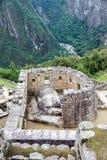 Świątynia Sun przy Mach Picchu zdjęcia royalty free