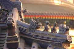 świątynia szczegółów nieba zdjęcie royalty free