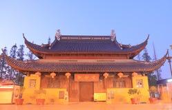 Świątynia tajemnica Suzhou Chiny Fotografia Royalty Free