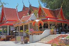 Świątynia, Tajlandia obraz royalty free