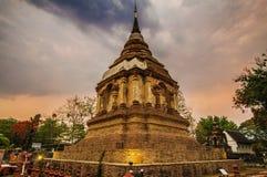 Świątynia, Tajlandzka świątynia, Wat Pra Singh, Chiang mai, Tajlandia, Zdjęcia Royalty Free