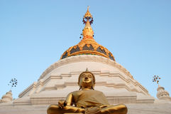 świątynia tajska dłoni Zdjęcia Stock