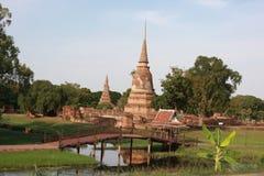 świątynia Thailand dłoni Zdjęcia Royalty Free