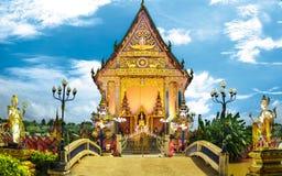 świątynia Thailand dłoni Zdjęcie Stock
