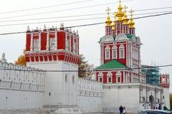 Świątynia transfiguracja północna brama Październik Zdjęcia Stock