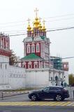 Świątynia transfiguracja północnej bramy Złota jesień Obrazy Stock