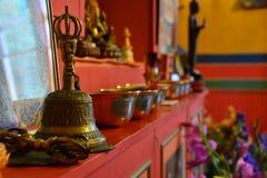 świątynia tybetańskiej Zdjęcie Stock